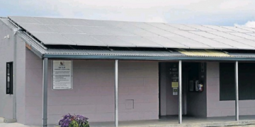 solar power on a school in Port Elizabeth